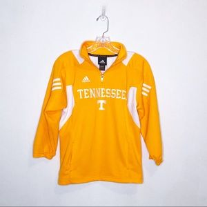 Adidas Scorch Tennessee Titans Yellow Quarter Zip